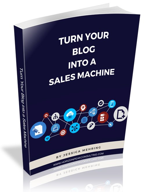 Turn your blog into a sales machine - PDF