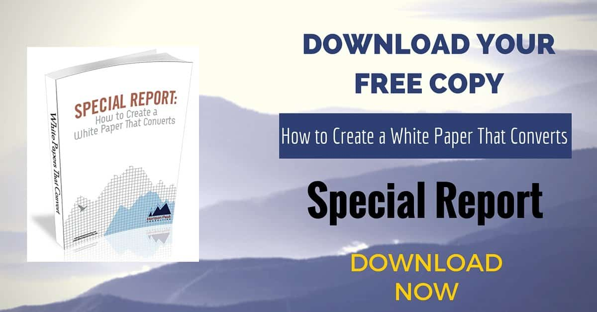 Free download: How to Create a White Paper That Converts