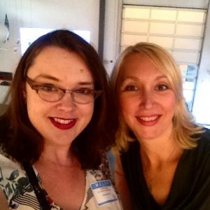 Lacy Boggs and Jessica Mehring at MozTalk Denver