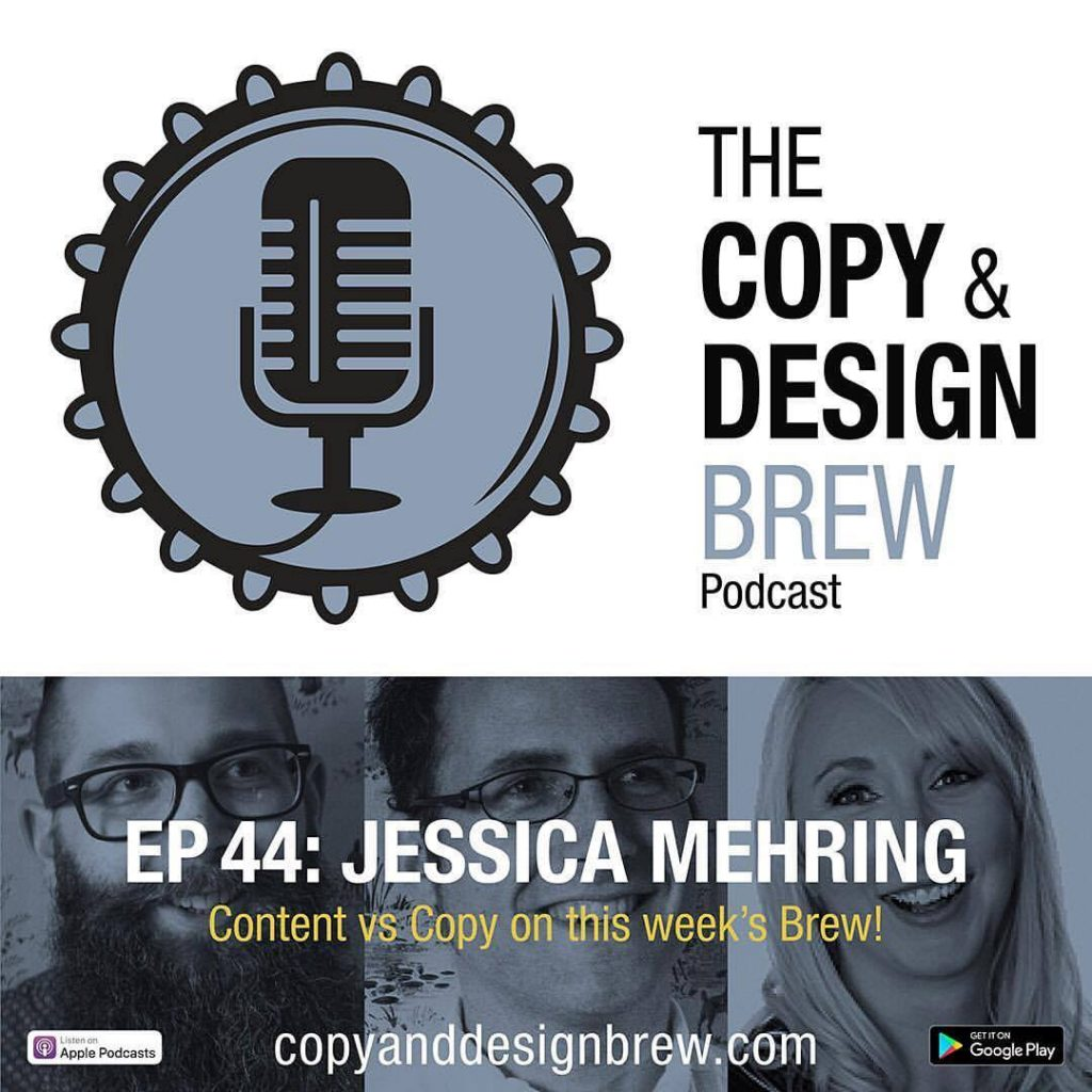 Copy & Design Brew Podcast