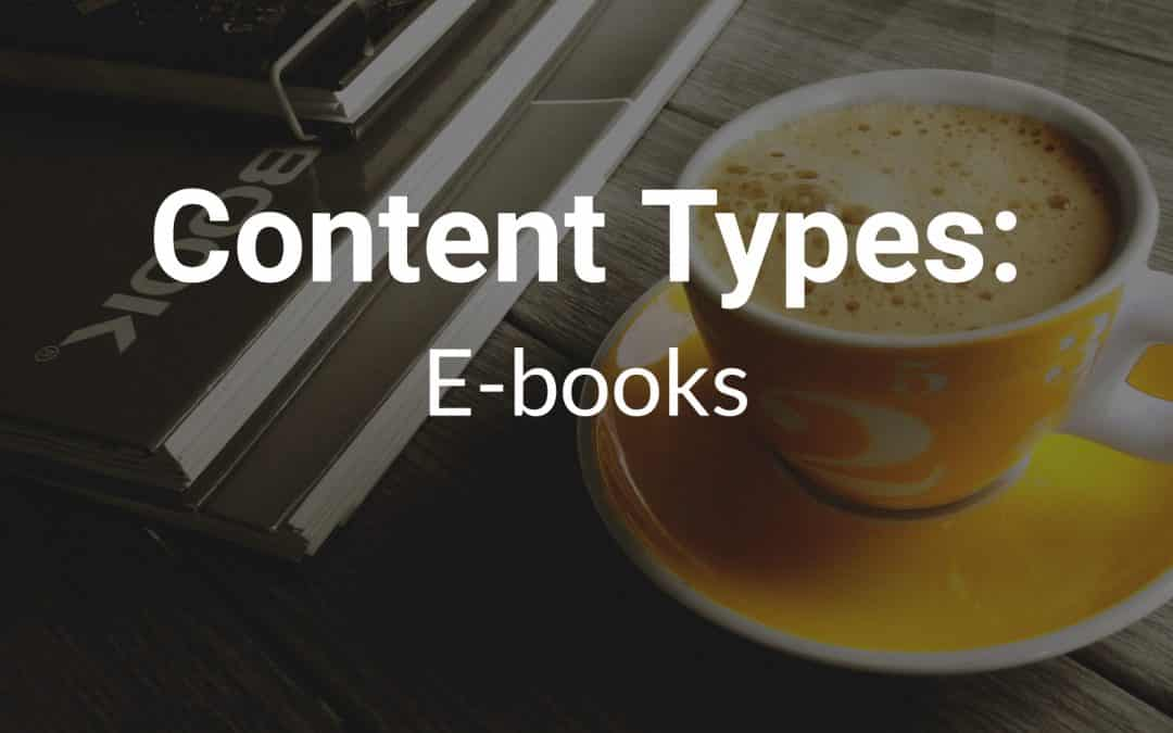 Content Types: E-books