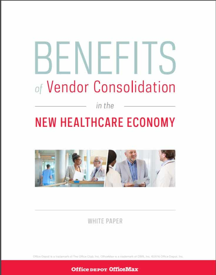 Get the benefits of vendor consolidation in the new healthcare economy