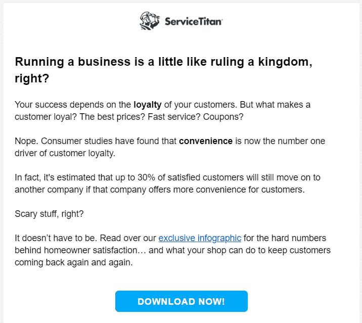 ServiceTitan email