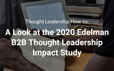 Thought Leadership Impact Study