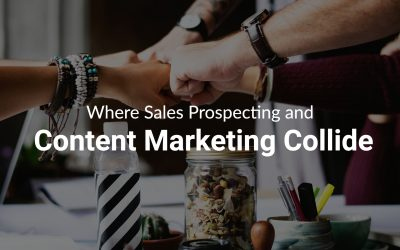 sales prospecting and content marketing